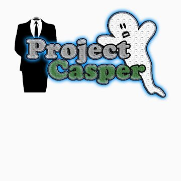 Project Casper T-Shirt by Anonymous by bitobytes