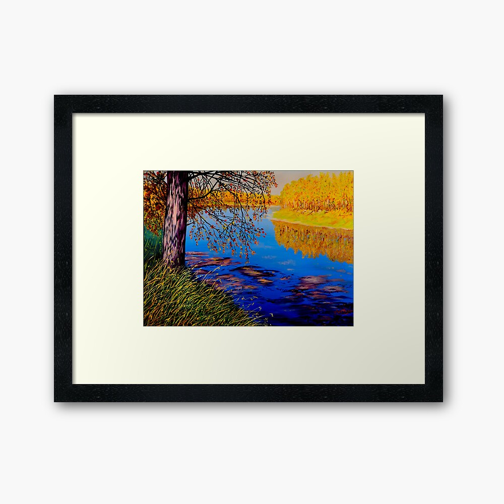 October Afternoon Framed Art Print