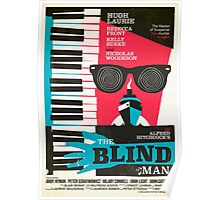Alfred Hitchcock's The Blind Man by Stuart Manning Poster