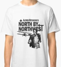 Alfred Hitchcock's North by Northwest by Burro! Classic T-Shirt