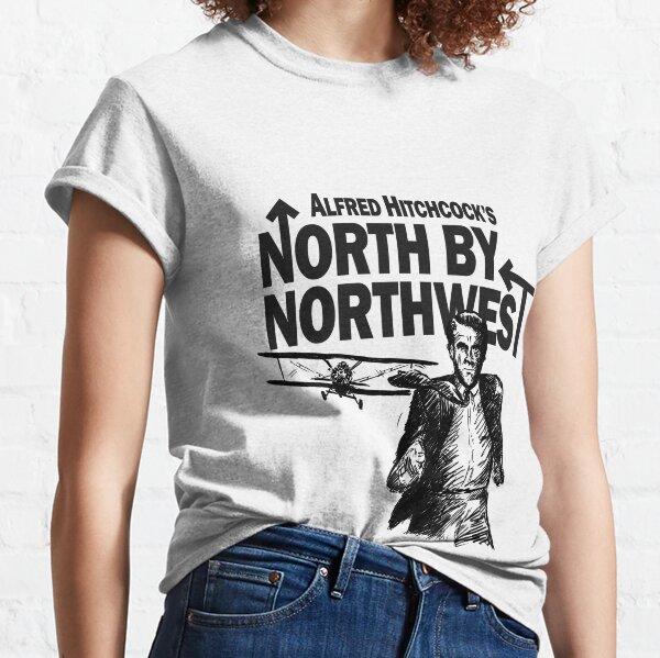 Alfred Hitchcocks Norden durch Nordwesten von Burro! Classic T-Shirt