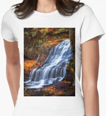 Wadsworth Falls Womens Fitted T-Shirt