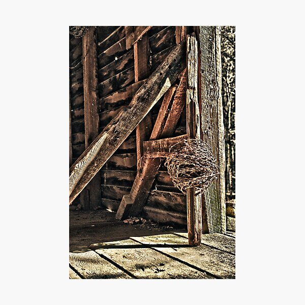 Time to Mend the Fences Photographic Print