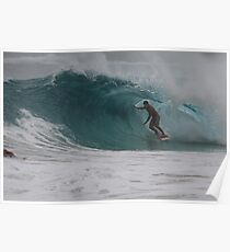 Cyclone Swell Surfing Poster