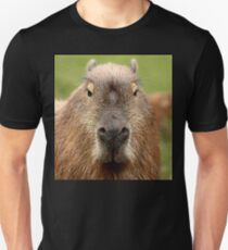 Portrait of a rather handsome capybara T-Shirt
