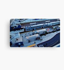 Business Travelers Canvas Print