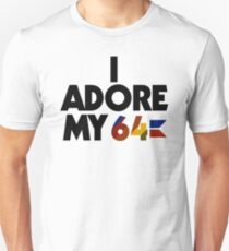I Adore My 64 (Black) Unisex T-Shirt