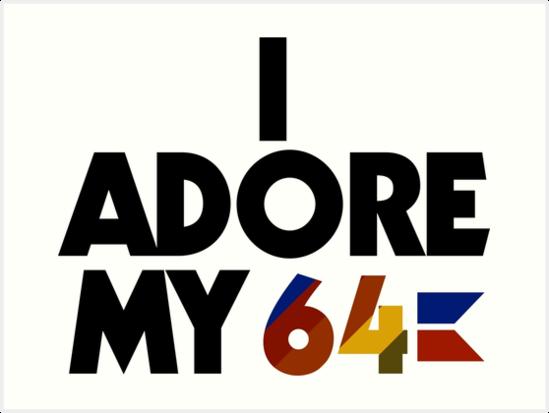 I Adore My 64 (Black) by shuriken76