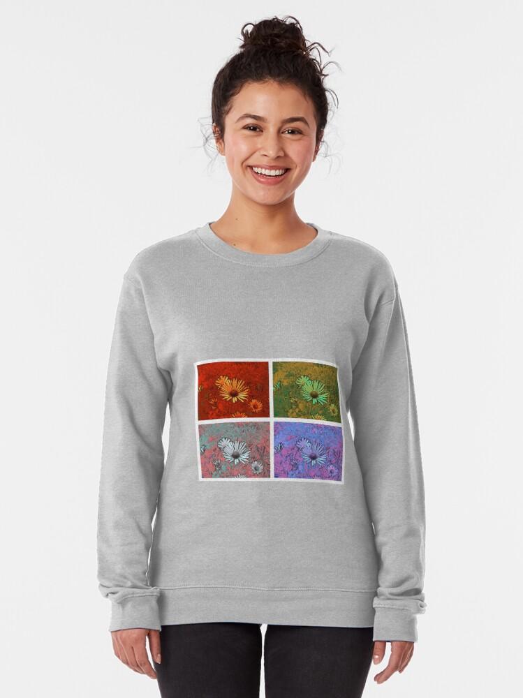 Alternative Ansicht von Blütengruß mal 4 Pullover