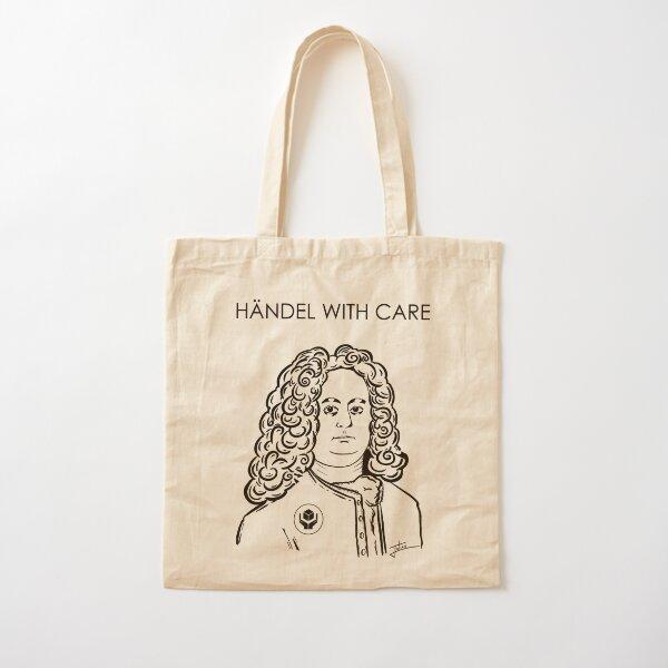 Händel With Care variation Cotton Tote Bag