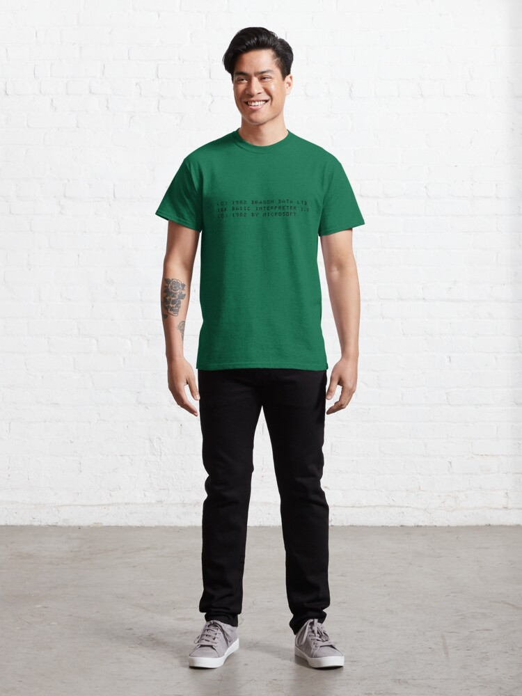 Alternate view of Dragon Boot Message Classic T-Shirt