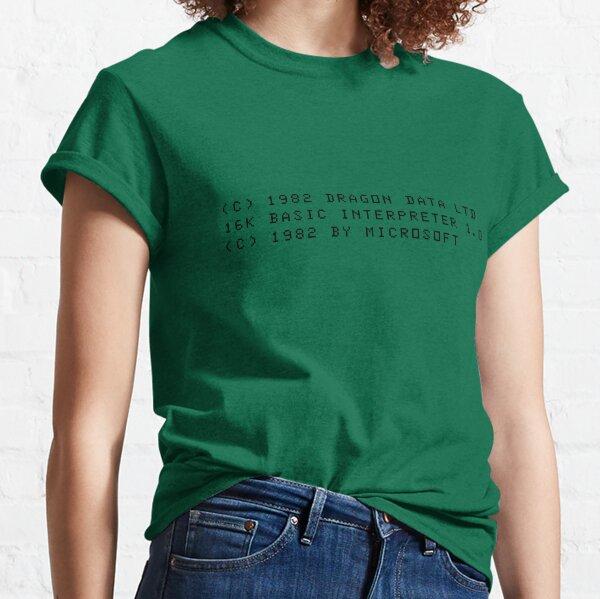 Dragon Boot Message Classic T-Shirt