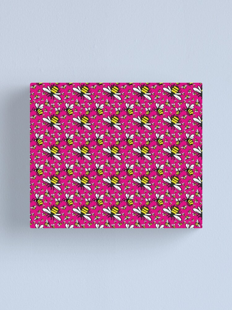 Alternate view of Buzzy Bee and friends Canvas Print