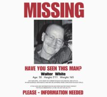 Walter white/MISSING