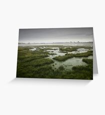 Over the bay Greeting Card