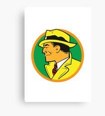Dick Tracy Canvas Print