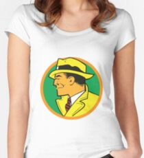 Dick Tracy Women's Fitted Scoop T-Shirt