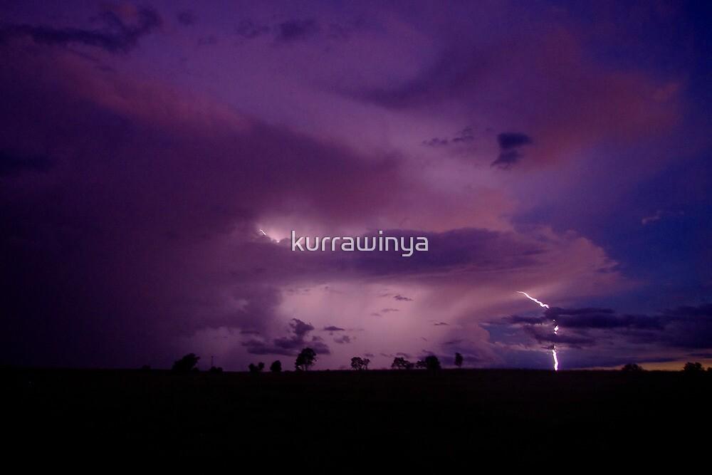 Mingara lightning by Penny Kittel