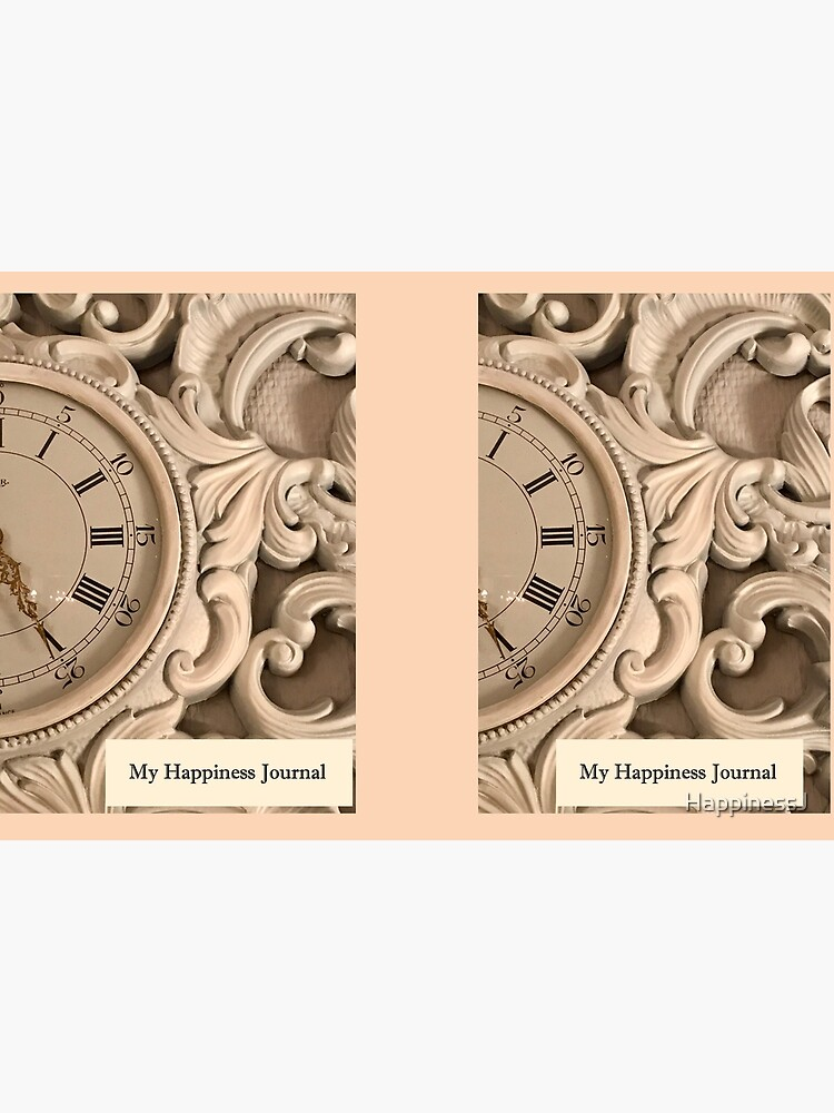 Happiness Journal With a Clock by HappinessJ