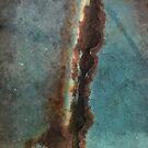 Aqua rust love by exuberantspirit