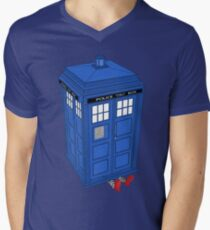 The Doctor is In Men's V-Neck T-Shirt