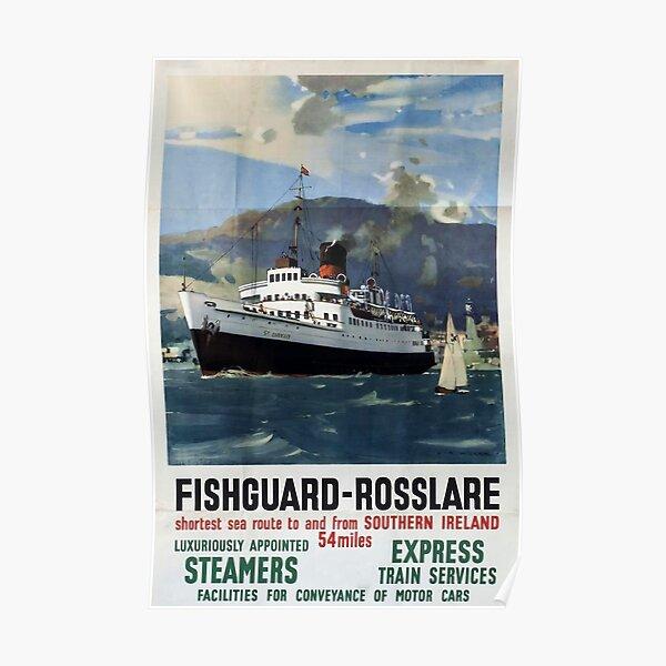 Southampton Docks Southern Railway Advert Vintage Retro style Metal Sign ship