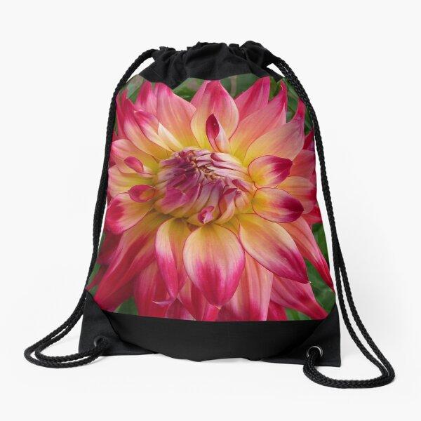 Dahlia #24 Drawstring Bag