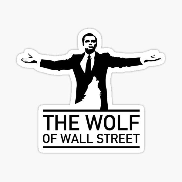 The Wolf of Wall Street - 'Wolfy' Sticker