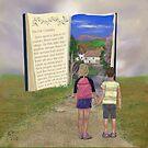 A Reading Adventure by EllieTaylorArt