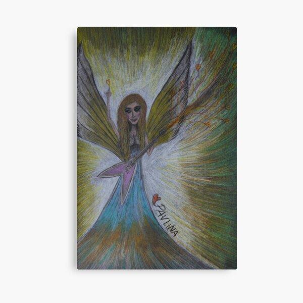 Rock & Roll Angel Canvas Print