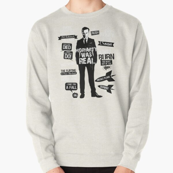 Good Old Fashioned Villain Quotes Pullover Sweatshirt