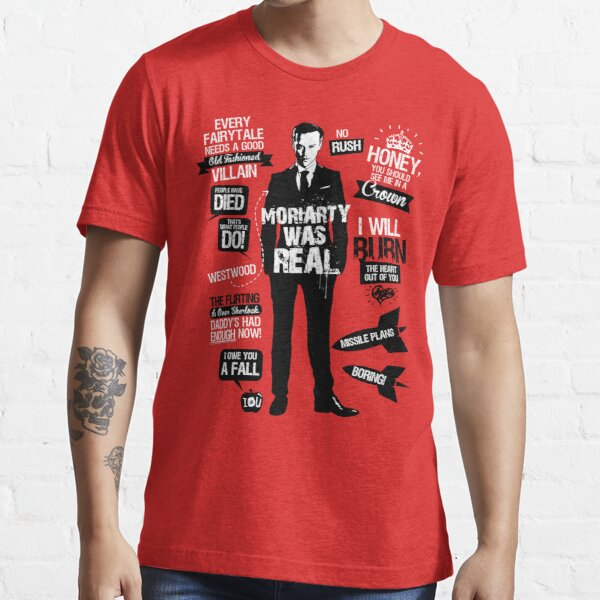 Good Old Fashioned Villain Quotes Essential T-Shirt