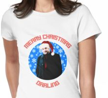 Christmas Crowley Womens Fitted T-Shirt