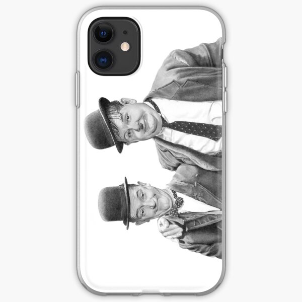 Laurel and Hardy. iPhone Soft Case