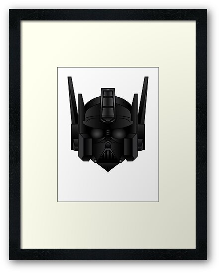 Optimus Vader by tombst0ne
