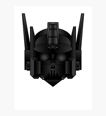 Optimus Vader Photographic Print