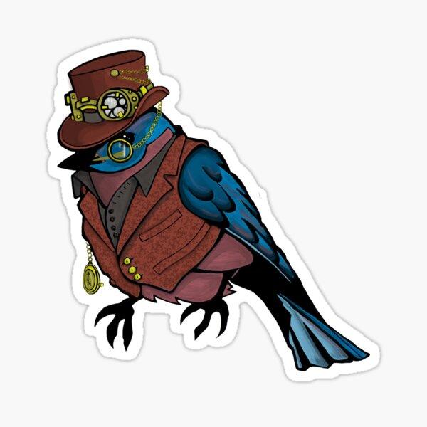 Baron Von Bluebird Sticker