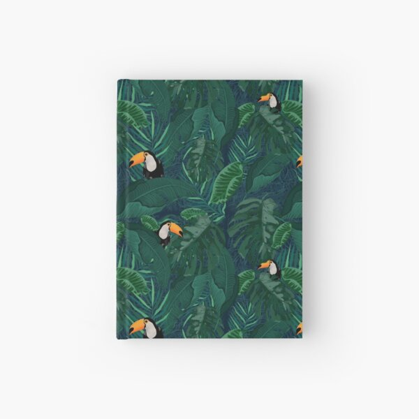 Toucan Tropical Hardcover Journal