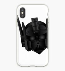 Optimus Vader iPhone Case