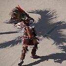 Aztec dancing - Azteca bailando by PtoVallartaMex
