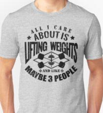 Bodybuilding Gewichtheben Fitnessstudio Unisex T-Shirt