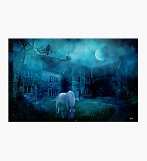 The White Horse Photographic Print