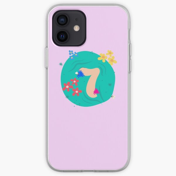Colourful Number 7 (Seven) iPhone Soft Case