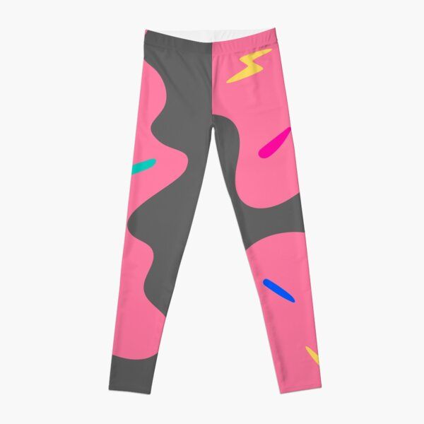 Colourful Number 8 (Eight) Leggings