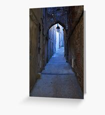 Cahors Alley Greeting Card
