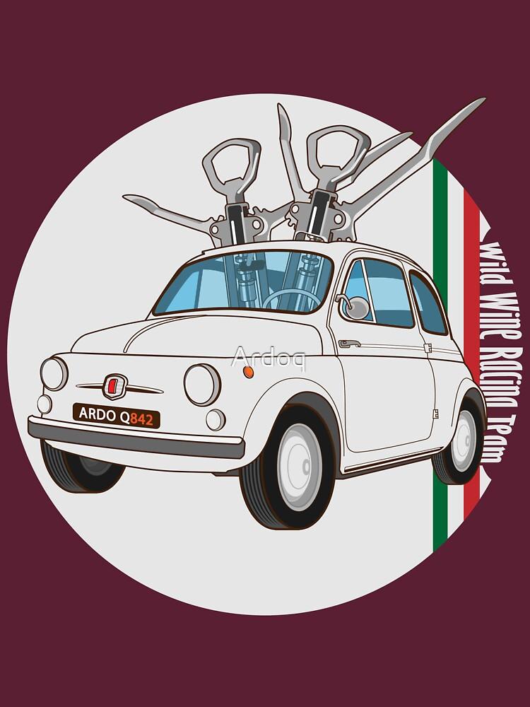 Fiat 500 - Italian Classic Car by Ardoq