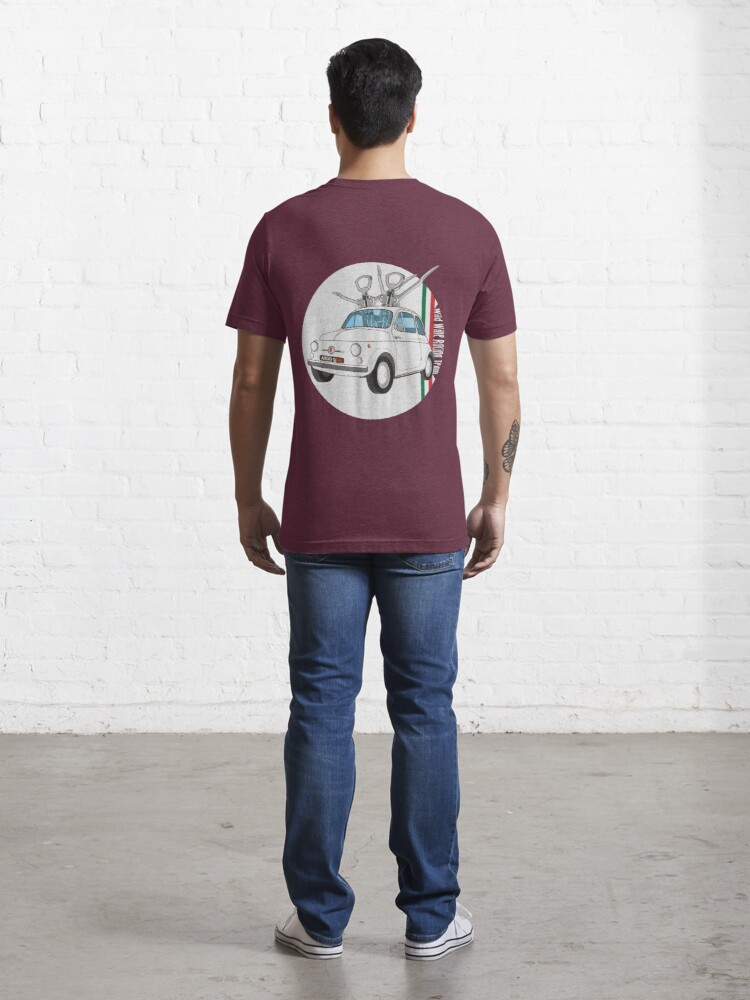 Alternate view of Fiat 500 - Italian Classic Car Essential T-Shirt