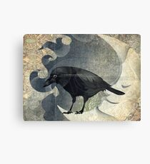 From the Raven Child Canvas Print