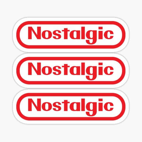 Sticker Pack! NES Collection : Nostalgic Logo Sticker