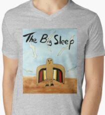 The Big Sleep  Men's V-Neck T-Shirt